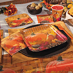 Harvest Basket Party Supplies