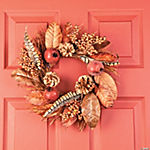 Winter Bay Leaves Wreath