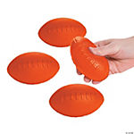 Orange School Spirit Foam Footballs