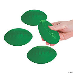 Green School Spirit Foam Footballs