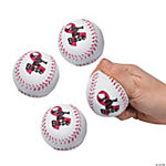 Breast Cancer Awareness Foam Baseballs