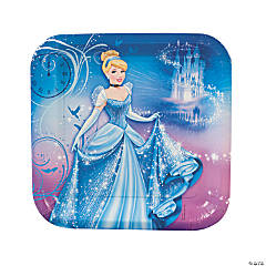 Disney's Cinderella Sparkle Square Dinner Plates