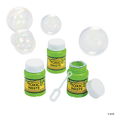 Radioactive Waste Bubble Bottles