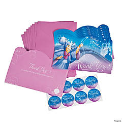 Cinderella Sparkle Thank You Cards