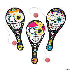 Day of the Dead Paddleball Games