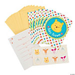 "Pooh ""Little Hunny"" Invitations With Seal"