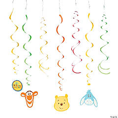 "Pooh ""Little Hunny"" Hanging Swirl Decorations"