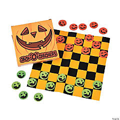 "Mini Jack ""O"" Checkers Games"