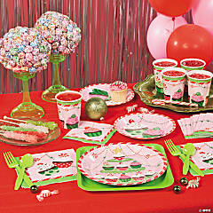 Christmas Cupcake Party Supplies