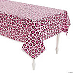 1st Birthday Cheetah Tablecloth
