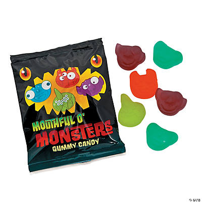 Gummy Monster Candy Fun Packs