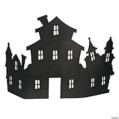 Haunted House Corner Centerpiece