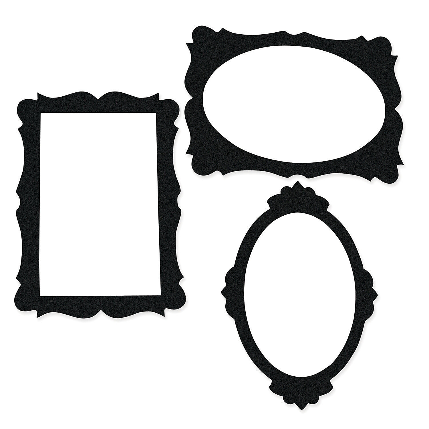 templates for photo booth props - black picture frame cutouts photo booth props costume