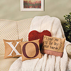 Kisses & Hugs Pillows