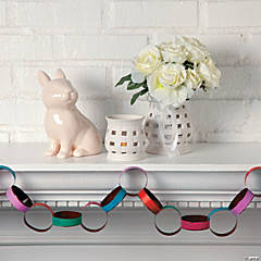 White Easter Mantel