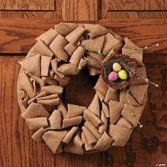 DIY Natural Easter Wreath