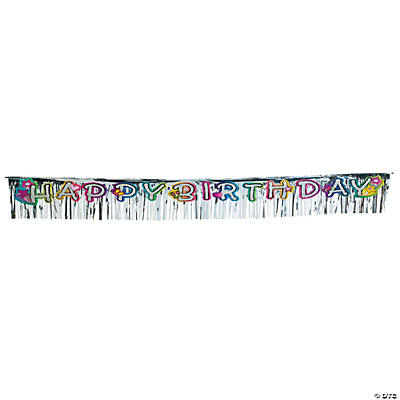 "Glitzy Chicks™ ""Happy Birthday"" Pennant Banner"