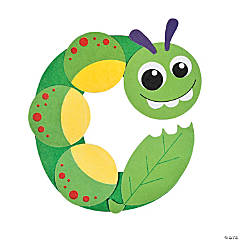 "Lowercase ""C Is For Caterpillar"" Craft Kit"