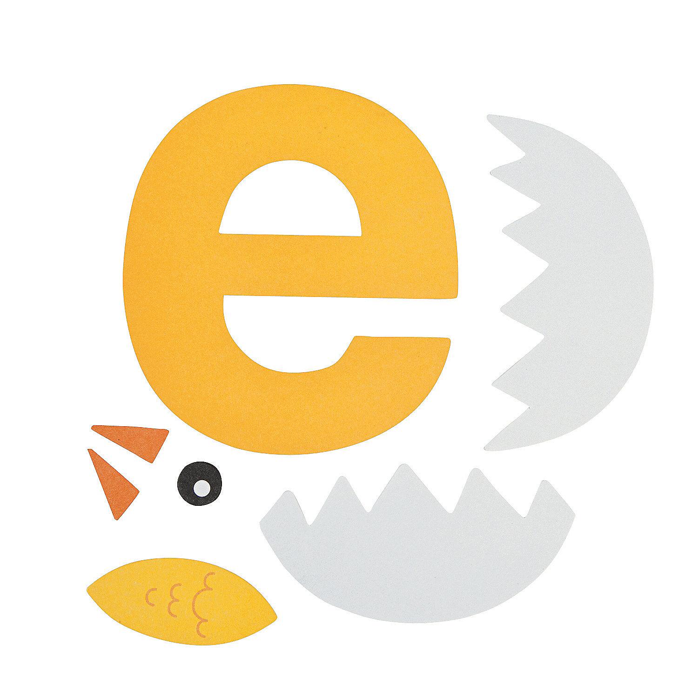 is for egg letter e craft kit in 13603390 e is for egg letter e ...