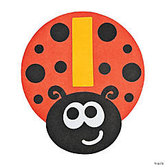 """L Is For Ladybug"" Lowercase Letter L Craft Kit"