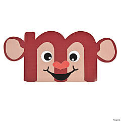 "Lowercase ""M Is For Monkey"" Craft Kit"