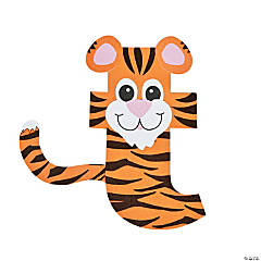 """T Is For Tiger"" Letter T Craft Kit"