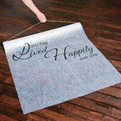 Wedding Decorations - Aisle Runners
