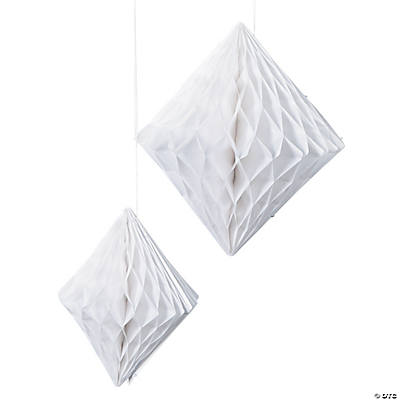 White Diamond Hanging Decorations