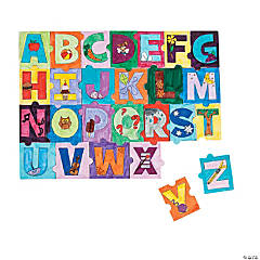 Color Your Own Alphabet Puzzles