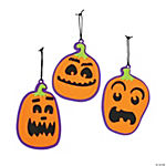 Scary Pumpkin Ornament Craft Kit