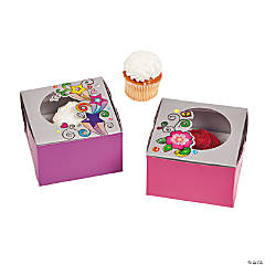 Glitzy Chicks™ Cupcake Boxes