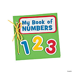 My Book of Numbers Thumbprint Craft Kit