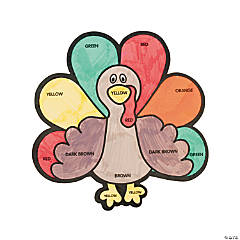 Color Your Own Turkey