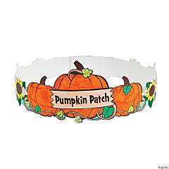 "Color Your Own ""Pumpkin Patch"" Crowns"