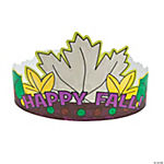 Color Your Own Fall Crowns