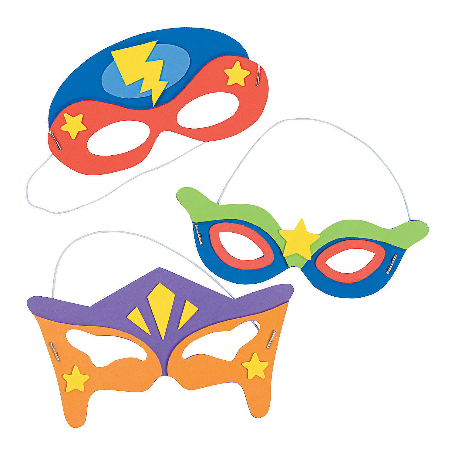 superhero mask template for kids - superhero mask craft kit oriental trading