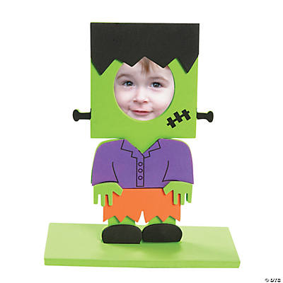 Green Monster Stand-Up Picture Frame Craft Kit