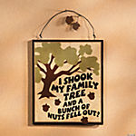 Family Tree Nut Sign
