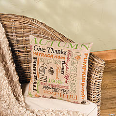 Fall Happenings Throw Pillow