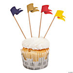 Knight's Kingdom Cupcake Liners with Picks