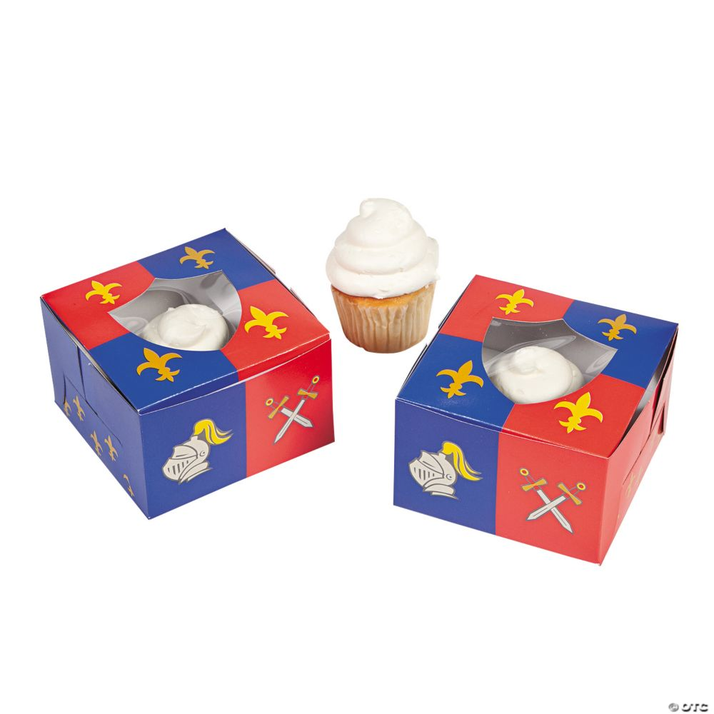 Cake Decorating Equipment Box : Knight s Kingdom Cupcake Boxes - Cake Decorating Supplies ...