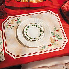 Holiday Print Place Mats