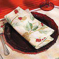 Holiday Print Napkins