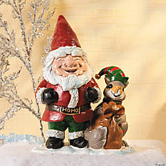 Santa Gnome with Friend