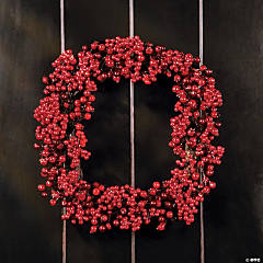 Cranberry Winter Wreath