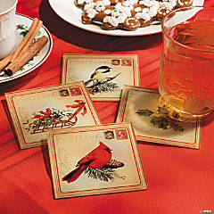 Holiday Postcard Coasters