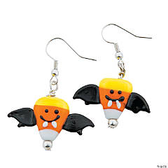 Candy Corn Bat Earring Craft Kit