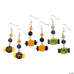 Halloween Candy Lampwork Earring Kit