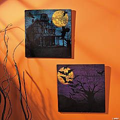 Halloween Silhouette Wall Prints