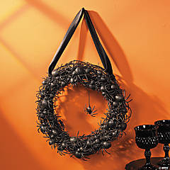Black Spider Wreath